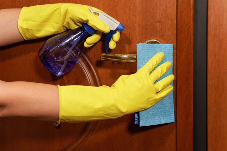 Keeping Germs from Spreading in the Workplace